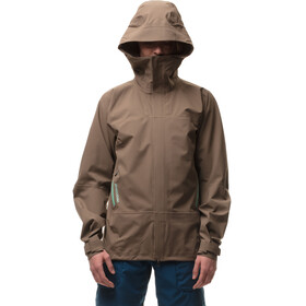Houdini W's BFF Jacket wheathered brown